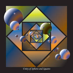 Unity of Spheres and Squares
