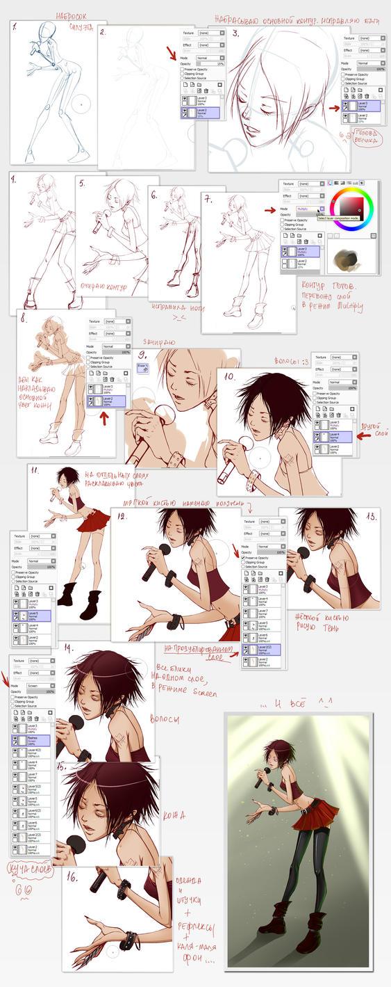 Kuroi Namida tutorial by Kira-Mayer