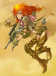 Redhead strikes again by Kira-Mayer