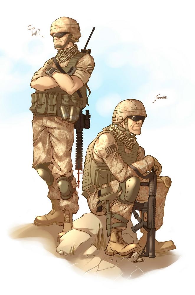 مشروع المرينز التونسي (Tunisian Marine Corp ) Sure_by_kira_mayer-d2zyadi