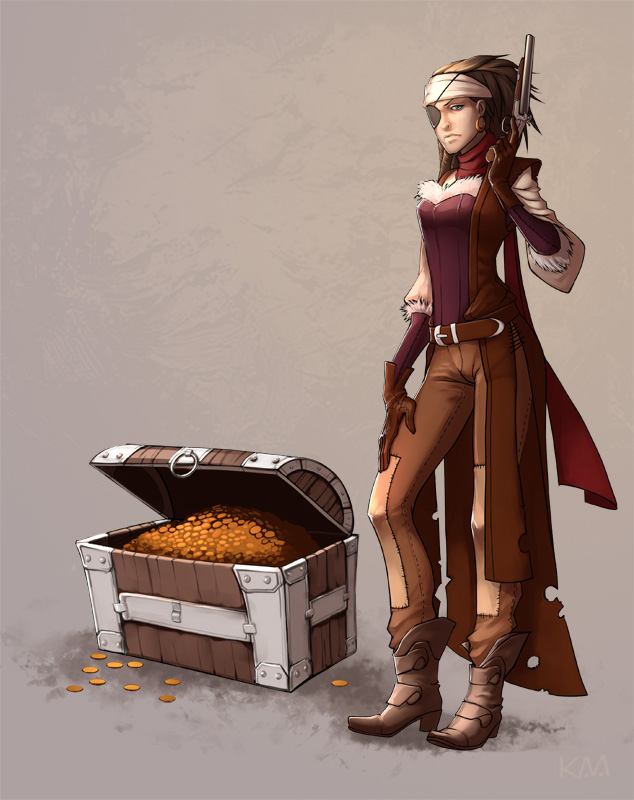 Pirate queen by Kira-Mayer