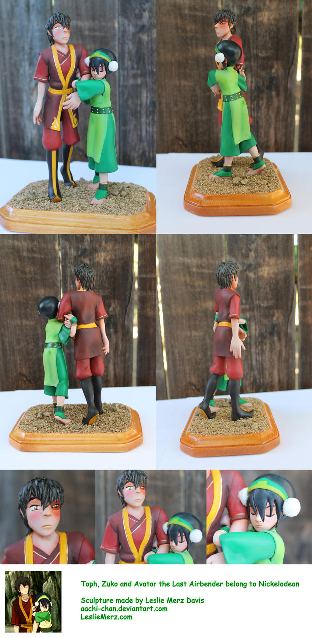 Toph and Zuko Final by aachi-chan