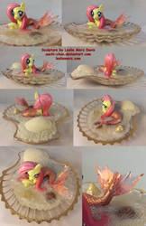 Flutterfin - Fluttershy the Merpony by aachi-chan