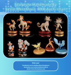 Pokemon sets by aachi-chan