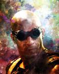 Richard B. Riddick up close