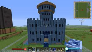 Minecraftbluesmallcastle