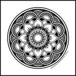 Mandala 4 by crimsonvermillion