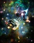 Starship 1 by CV