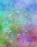 Mandala 35 Color Embossed 2