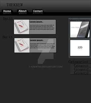 Wordpress theme Scrap