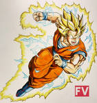 Dragon Ball Z - Goku ssj2