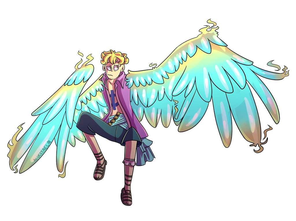 Marco Phoenix by Alucitael on DeviantArt