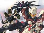 Gundam Seed Golem - Fan Art