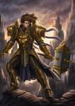 Golden Knight by HappySadCorner