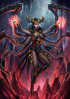 Demon Queen by HappySadCorner