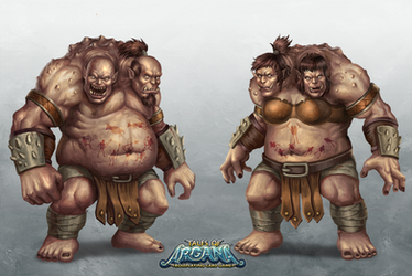Tales of Arcana: Two Headed Ogre