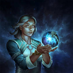 Mystical Orb by HappySadCorner
