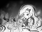 Mary: A burned Rose