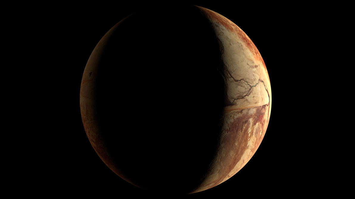 Desertplanet In The System Zeta Reticuli by MrVincGi on ...