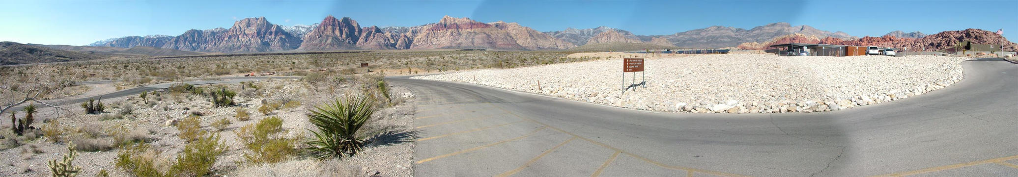 Red Rock Canyon Pano 2 by mackdj