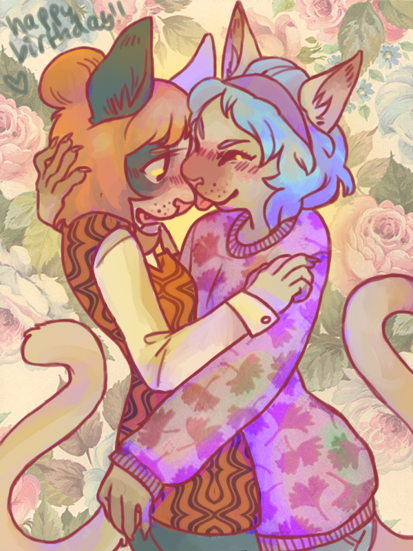 Gift: Kissy Cats by boblitt