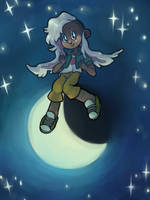 moon rabbit by boblitt