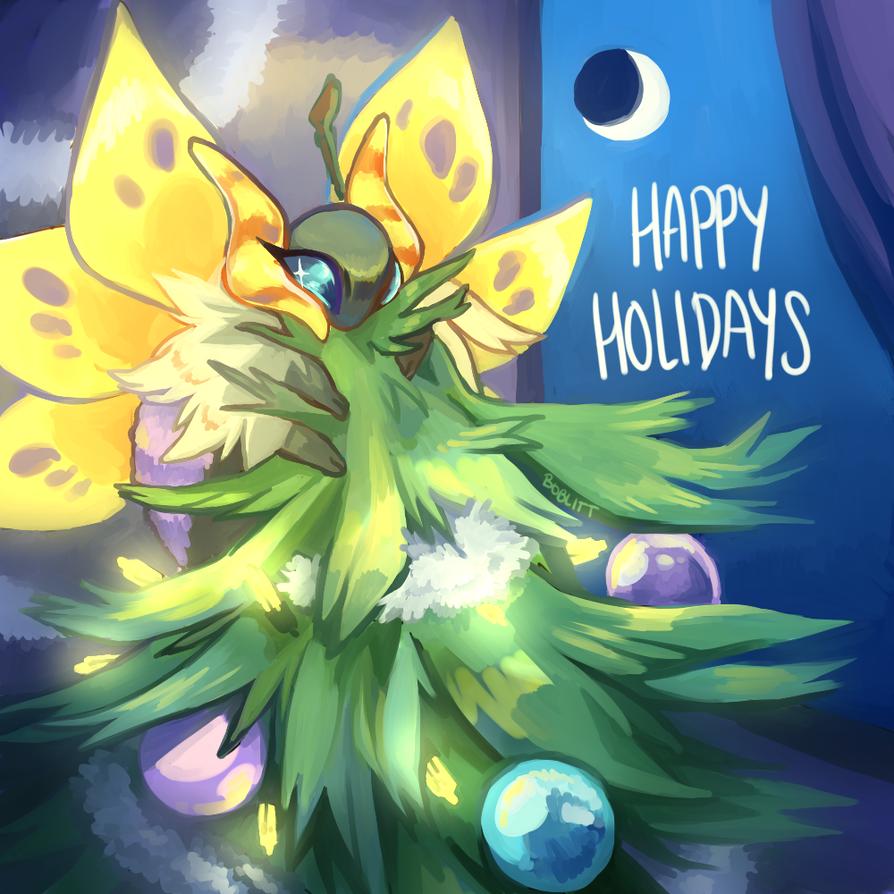 happy holiday sparkle by boblitt