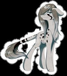 Crystal Cheetah - MLP OC