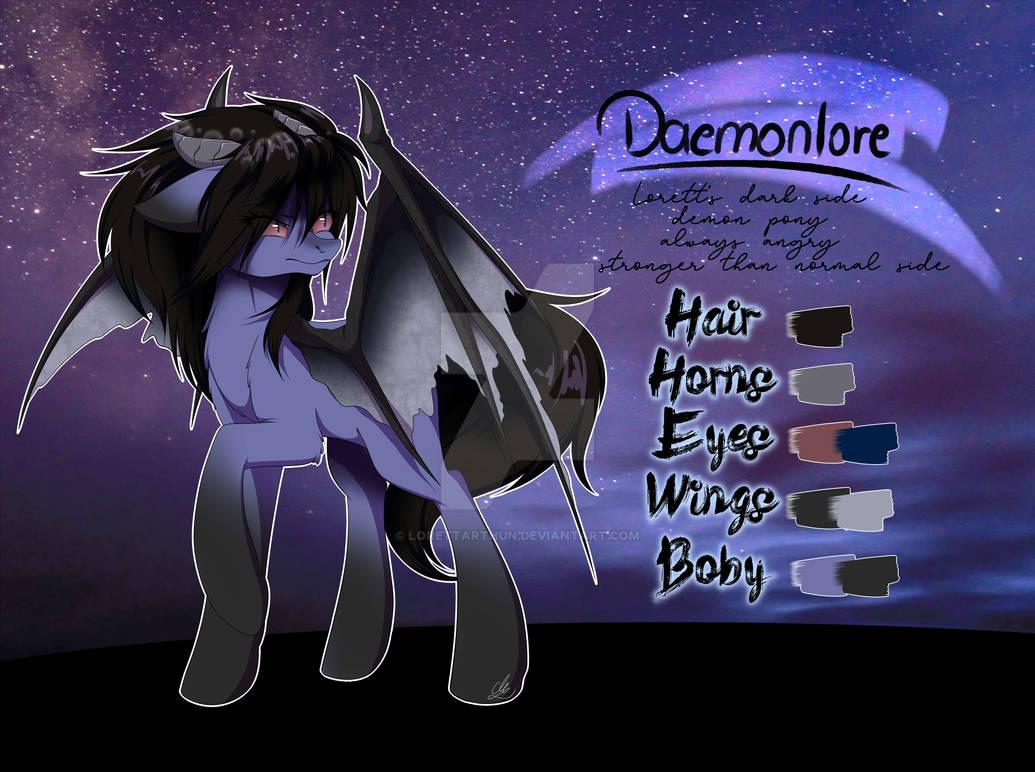 Daemonlore - MLP OC