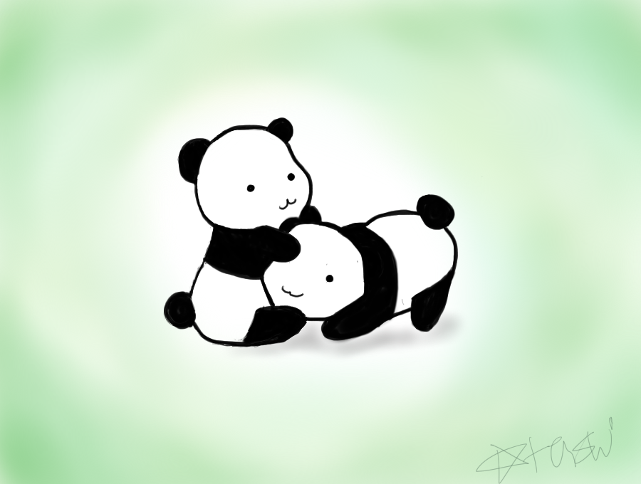 Pandas! by olokp