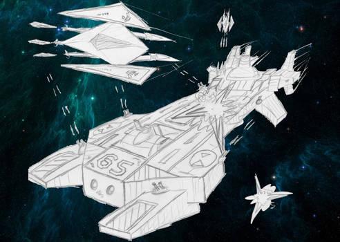 TCS Concordia Under Attack