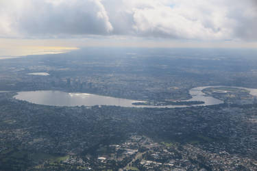 Over Perth by Wedge009
