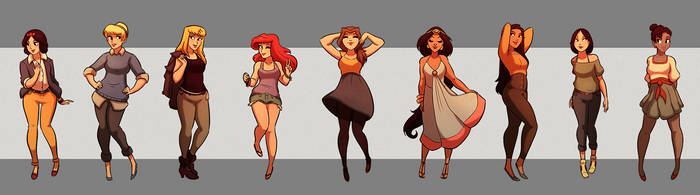 Disney Princess Fanart
