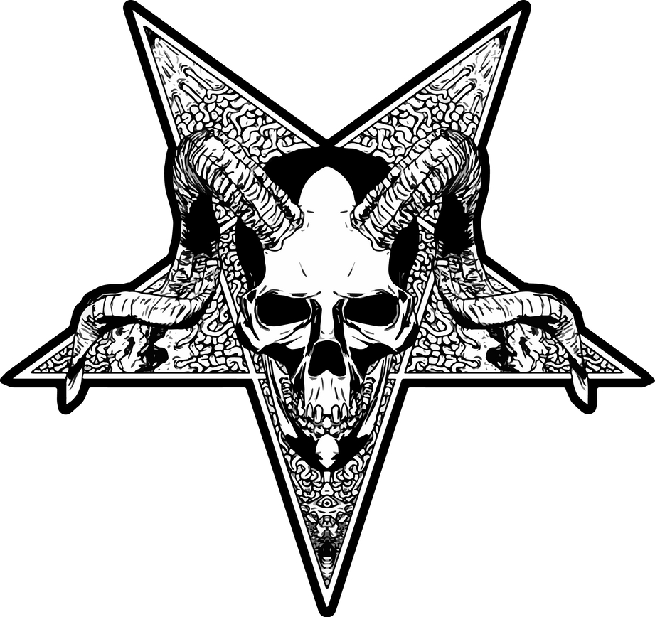Pentatonic Skull by gabruele