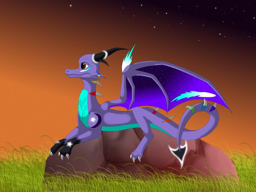 New Dragon Chara by FeonyxFyre
