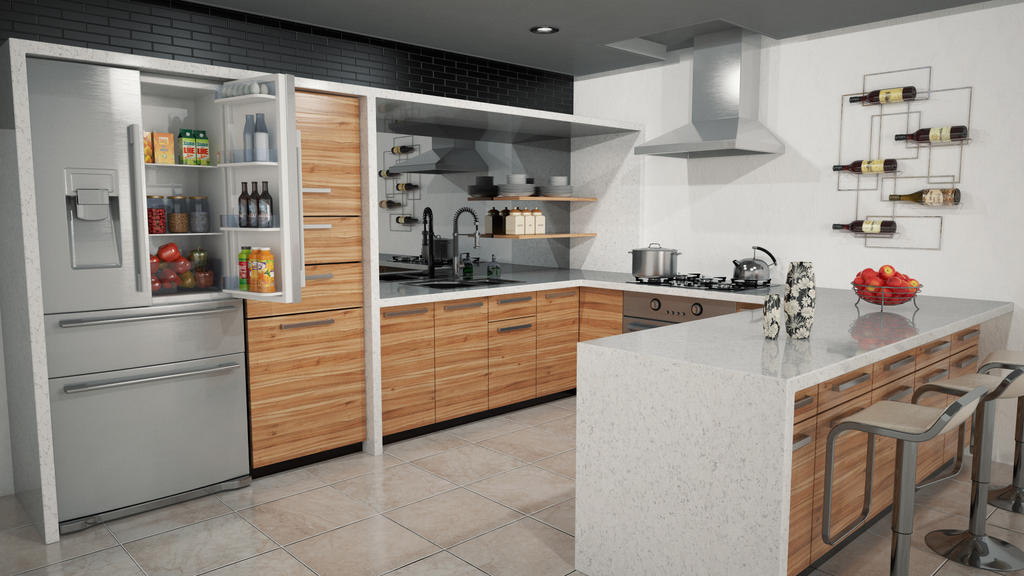 Kitchen by sime242
