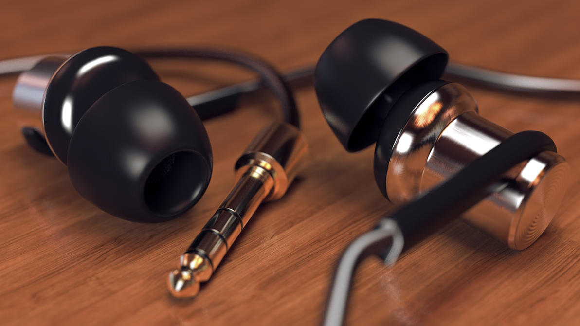 Mi In-Ear Headphones by sime242