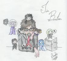 Tim Burton Tribute by Subaku-kun
