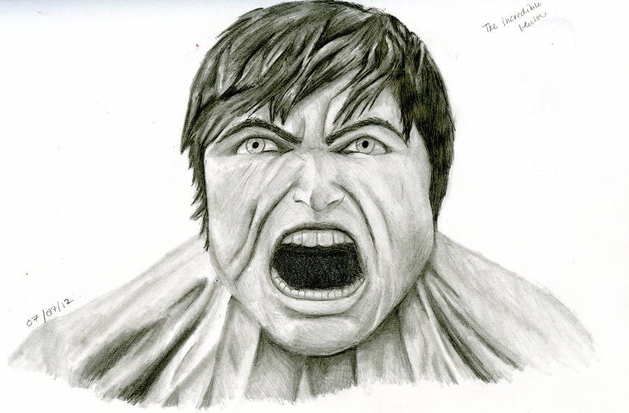 Incredible Hulk... The Incredible Hulk Sketch