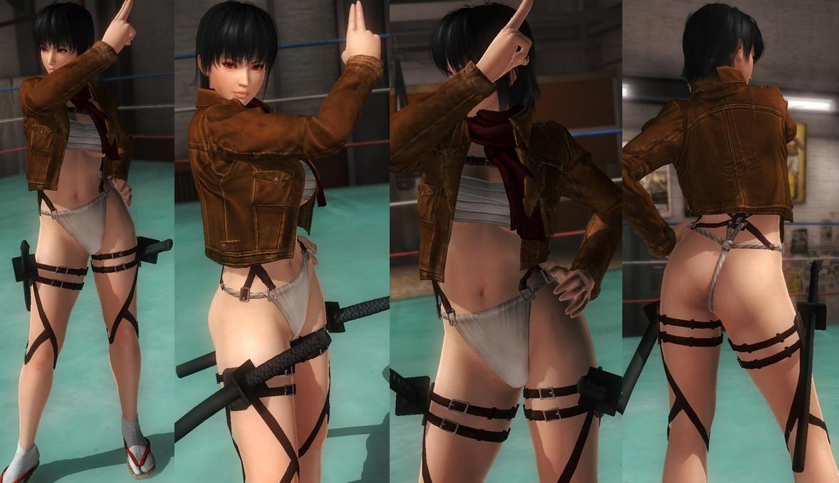Ayane fundoshi jacket by funnybunny666
