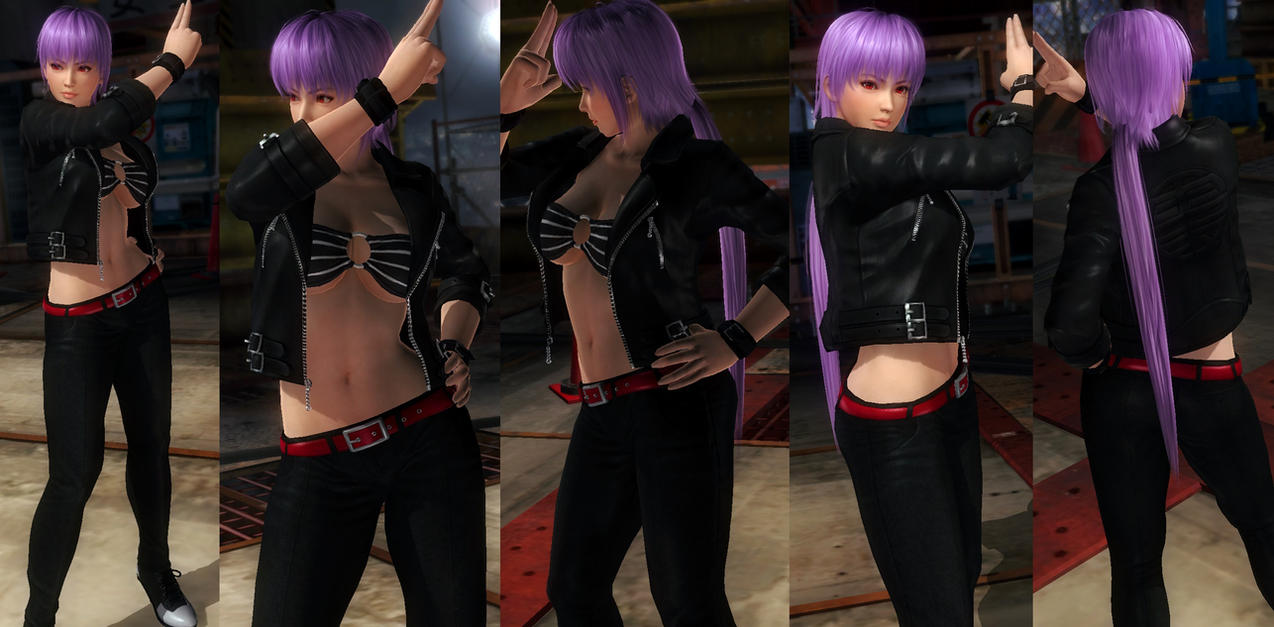 Ayane jacket pants by funnybunny666