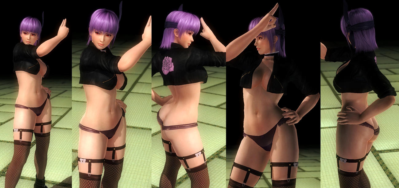 Ayane jacket underwear by funnybunny666