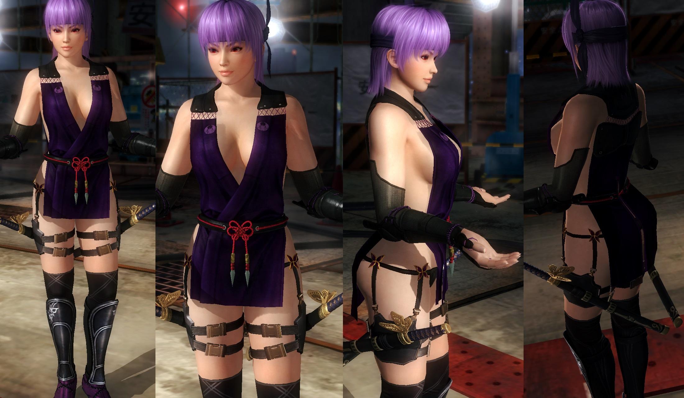 Ayane ninja mixed by funnybunny666