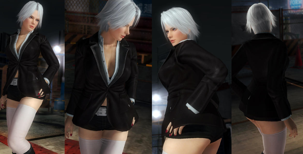 Christie Black Hotpants by funnybunny666