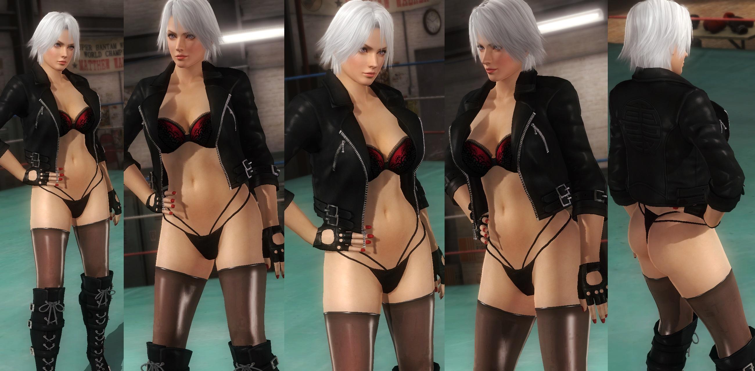 Christie bikini jacket by funnybunny666
