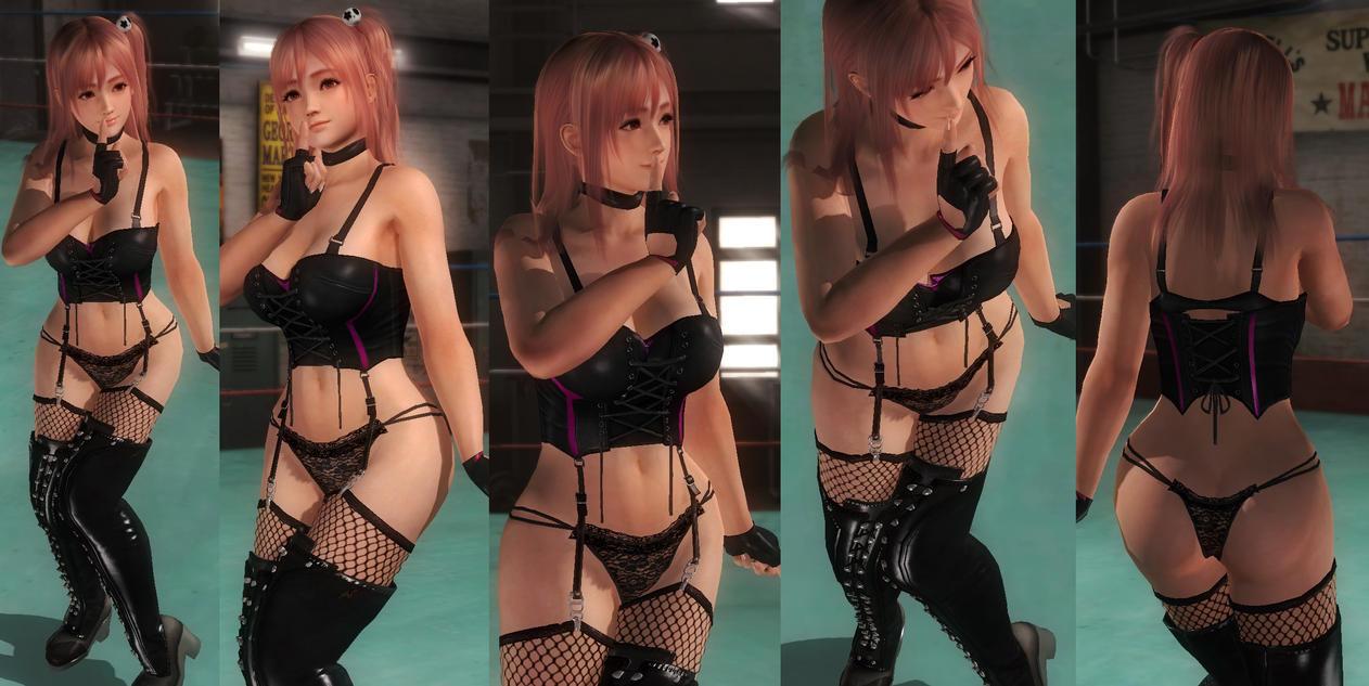 Honoka corset underwear by funnybunny666