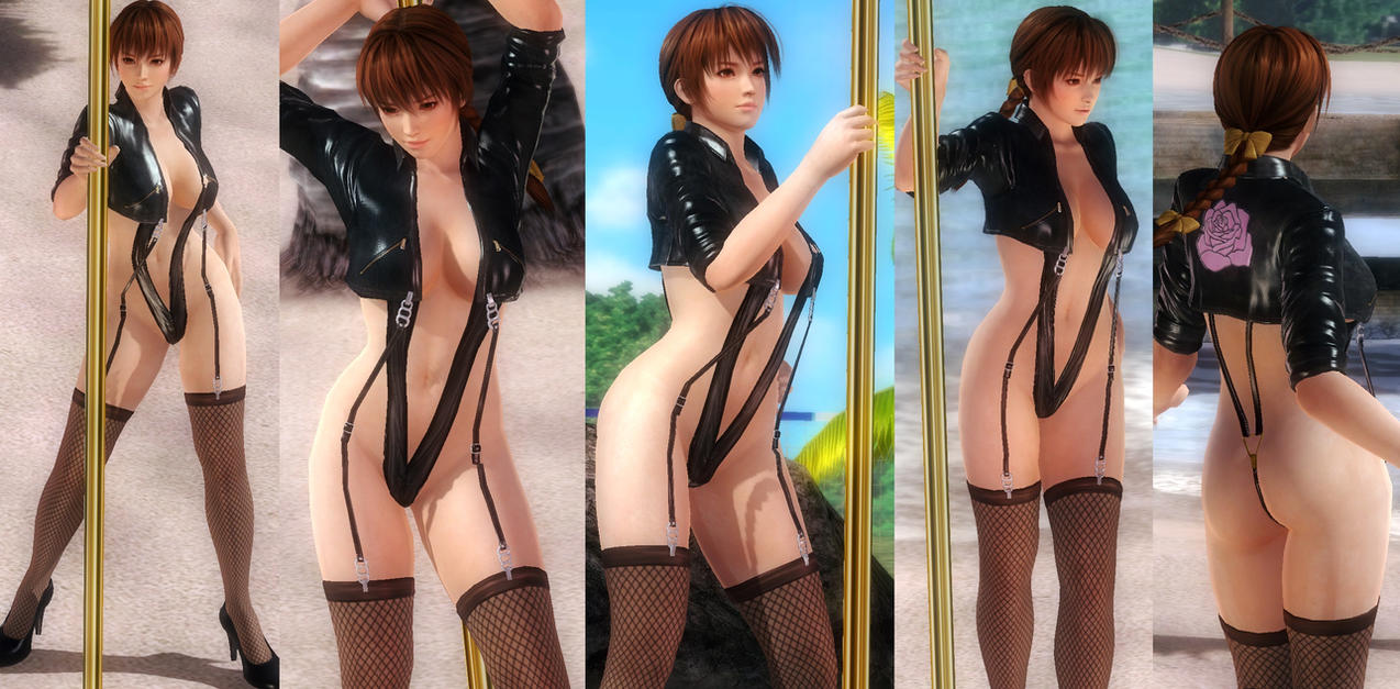 Kasumi Jacket Straps by funnybunny666