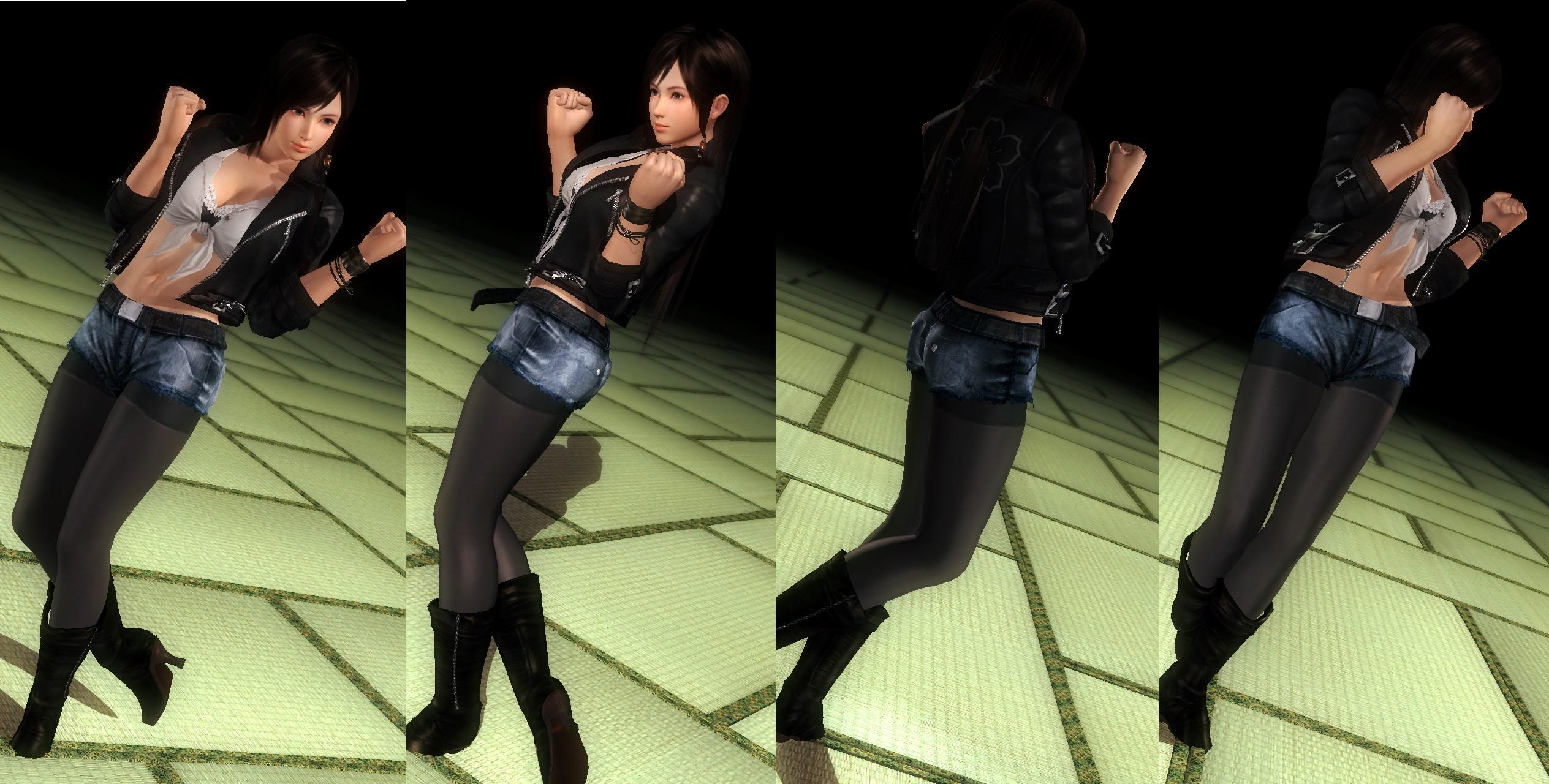 Kokoro jacket pantyhose by funnybunny666