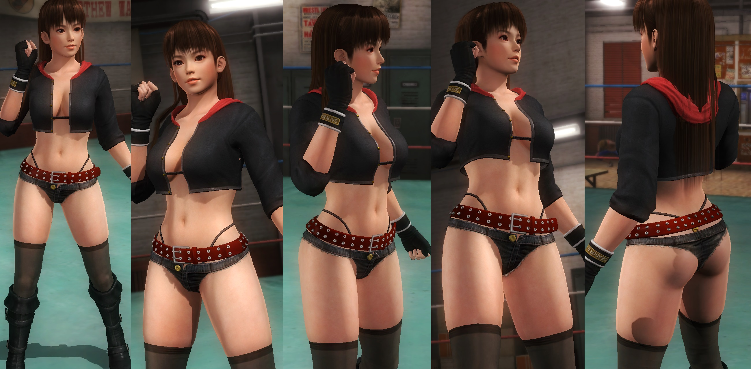 Leifang jacket hotpants by funnybunny666