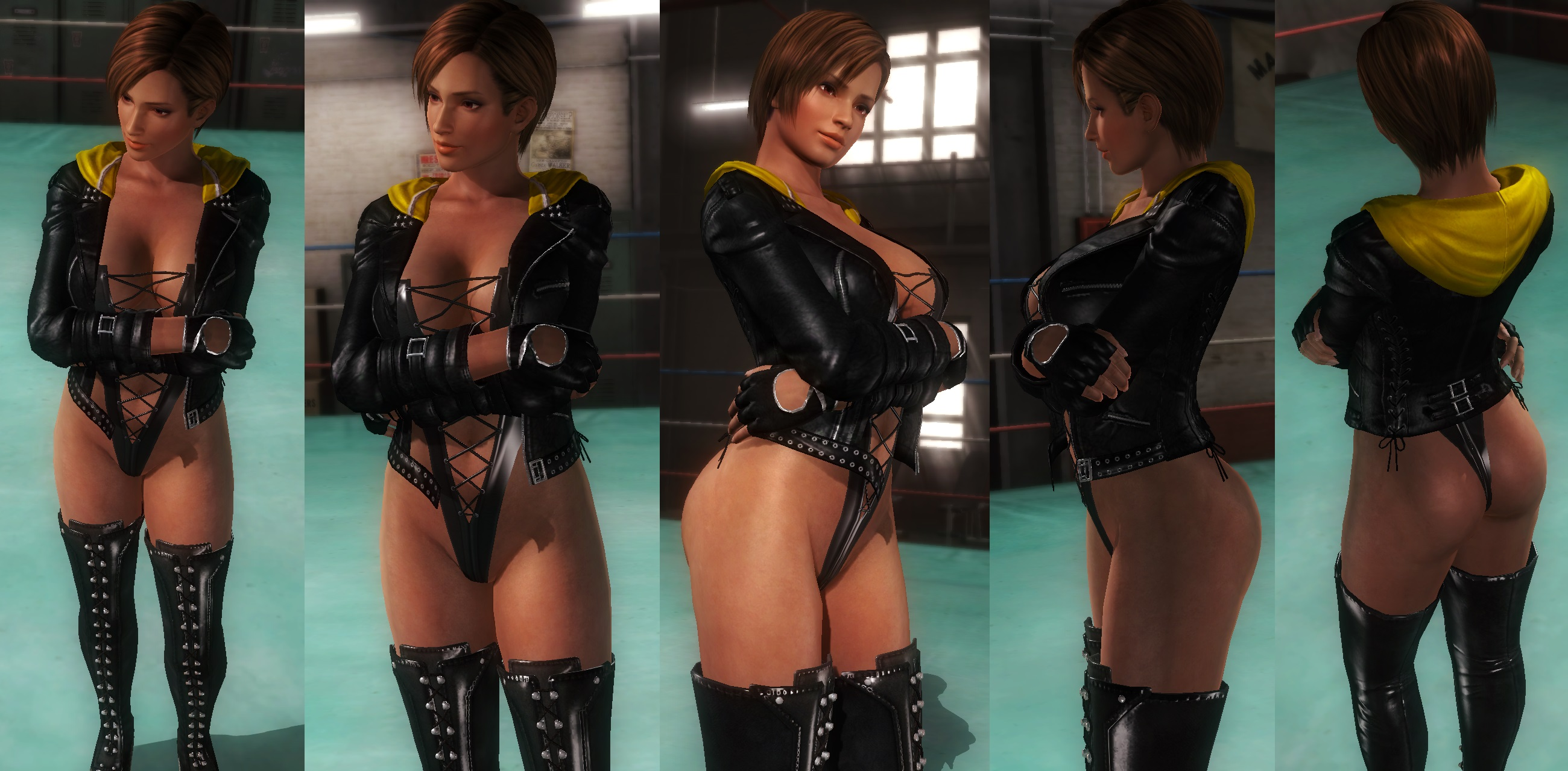 Lisa jacket thigh highs by funnybunny666